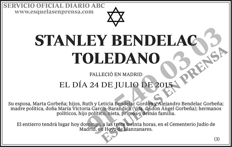 Stanley Bendelac Toledano